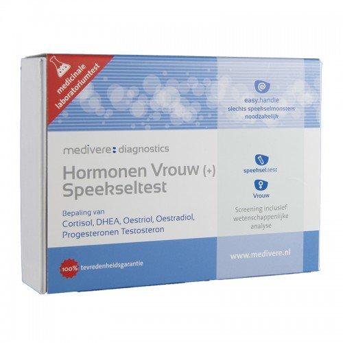 Medivere Hormonen Vrouw plus Speekseltest