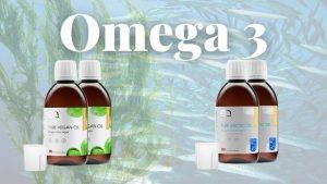 Omega 3 Visolie Algen olie Eqology