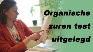 organische zuren test