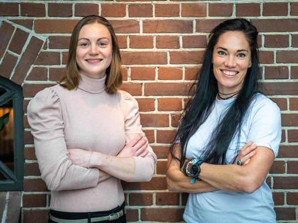 Chantal en Laura Dietiste Houten