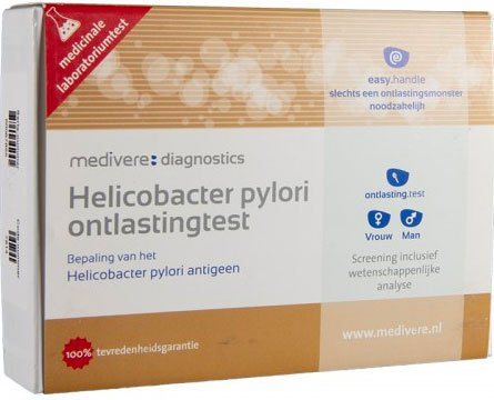 Helicobacter pylori ontlastingstest van medivere