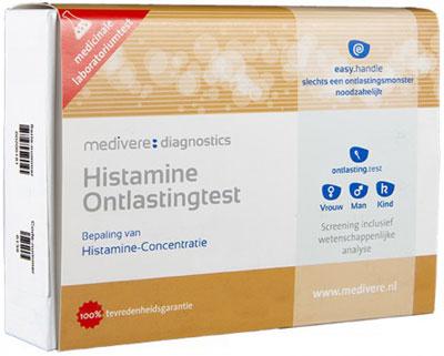 histamine onstastingstest van medivere voor het testen van histamine intolerantie