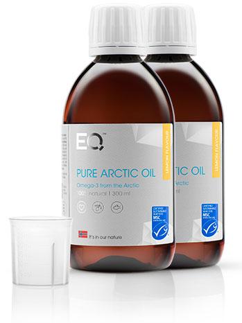 Eqology Pure Arctic Oil Omega 3 Visolie Lemon