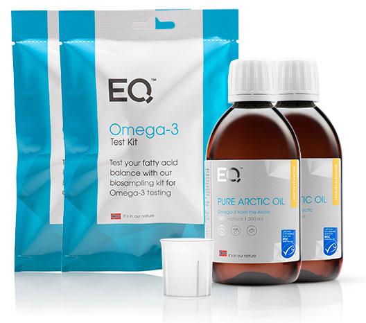 Eqology Pure Arctic Oil visolie met omega 3 bloedtest