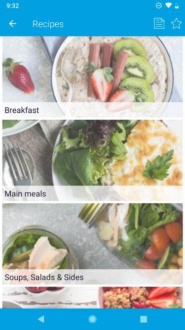 FODMAP app FODMAP beperkte recepten
