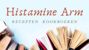 Histamine arm recepten kookboeken