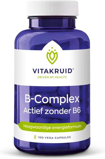 Vitamine B complex zonder B6 supplement