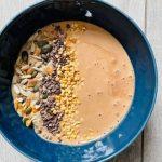 Chocolade Banaan Pindakaas Bowl